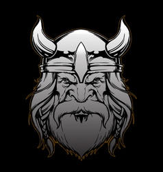 Viking design by Akos vector image vector image
