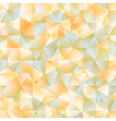Warm abstract triangular background vector