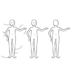 Body silhouette vector