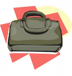 doctors bag vector image vector image