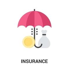 Insurance icon concept vector