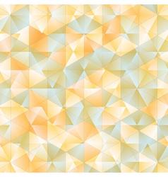 Warm abstract triangular background vector