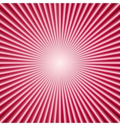 Abstract color background with radial lines vector