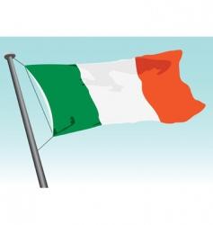vector flag of Ireland vector image