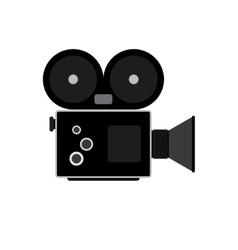Camcorder symbol Flat vector image vector image