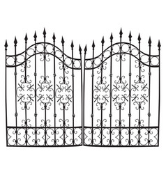Iron gate full vector