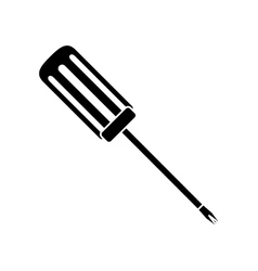 Technical service solutions screwdriver icon vector