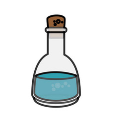 Spa oil bottle vector