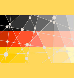 Germany flag concept vector