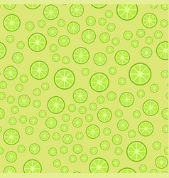 lemon fruits seamless pattern vector image vector image