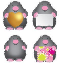 mole vector image vector image