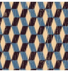 rhombus print vector image vector image