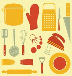 Kitchen composition vector