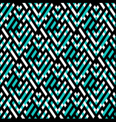 op art seamless geometric background vector image