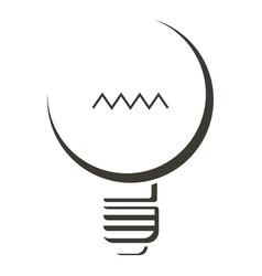 black lamp icon cartoon style vector image vector image