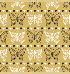 Gold pattern celebration seamless background with vector