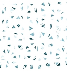 Triangles Glitch Background vector image vector image