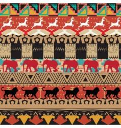 safari pattern vector image