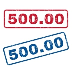 50000 Rubber Stamps vector image vector image
