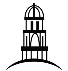 cupola or temple vector image