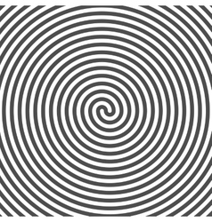 Hypnotic spiral background vinyl grooves optical vector