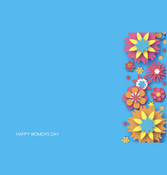 8 march happy women s day trendy mother s day vector