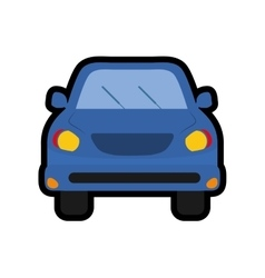 Car or automobile icon transportation design vector