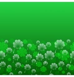 Abstract st patrick s day pattern vector