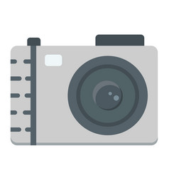 Camera flat icon photo and capture vector