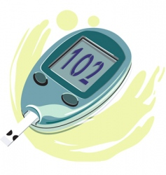 diabetes vector image vector image