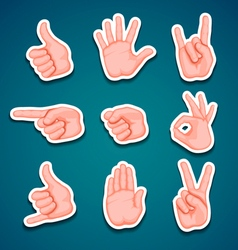 Hands vector
