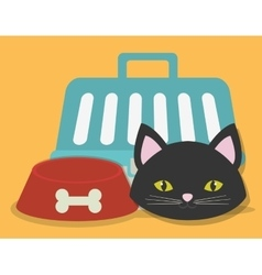 pet icon image vector image vector image