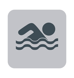 Swimming water sport icon vector image vector image