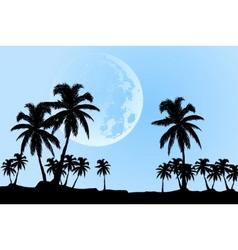 vector moon vector image