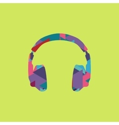 Headphones icon trendy vector