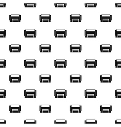 Concrete garage pattern simple style vector