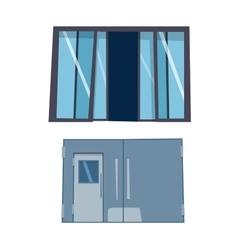 Door isolated vector
