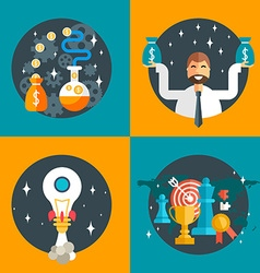 Make money startup business success business vector