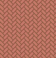 Seamless Brown Brick Texture vector image