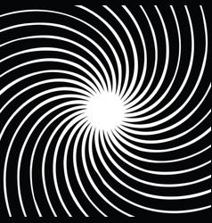spiral background circular vector image