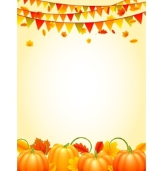 Autumn season background vector