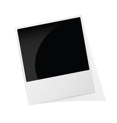 phote frame polaroid vector image