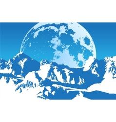 vector landscape vector image