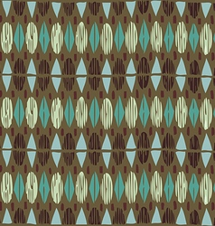 Geometric seamless pattern ethnic abstract vector