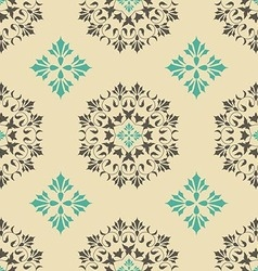 Seamless pattern with element vintage style vector