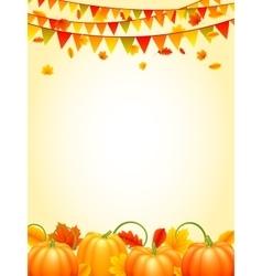 Autumn season background vector