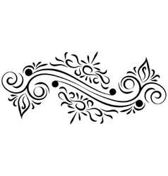 Doodle abstract handdrawn ornament vector