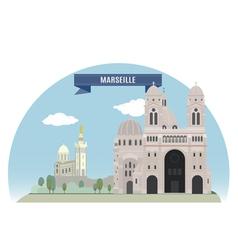 Marseille vector image vector image