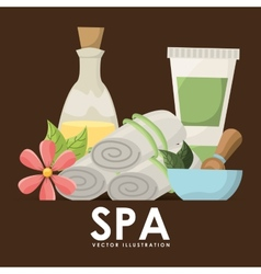 Poster spa vector