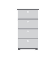 office cabinet icon documents office box vector image